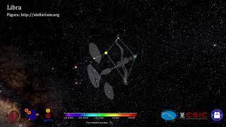 Constelaciones 3D. Libra