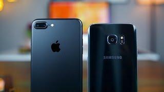 iPhone 7 Plus vs S7 Edge Camera Comparison