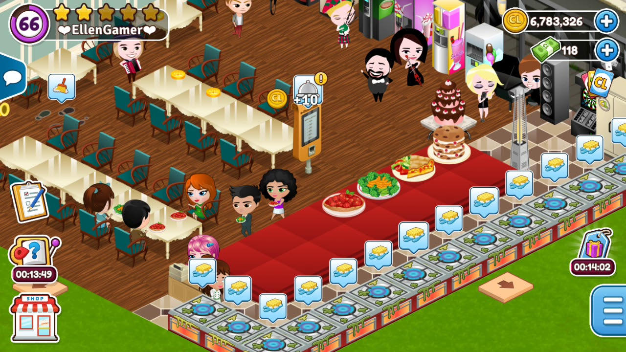 Cafeland cheats and free codes download