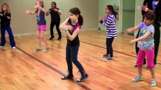 Chelsea's Hip-Hop Class- Pump It- Black Eyed Peas