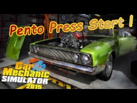 Pento Press Start : Car Mechanic Simulator 2015