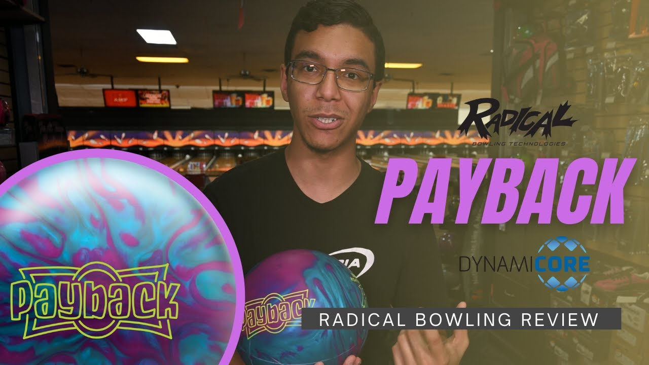 One of Mo Pinel's last bowling balls... Radical Payback Review!
