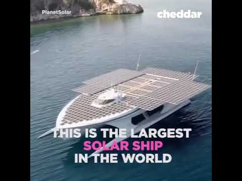Amazing Solar | This solar yacht was built to show companies and individuals | Civil Science