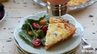 Quiche Recipes - How To Make Smoked Salmon Quiche