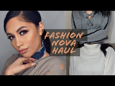 Fashion Nova TRY ON Haul!