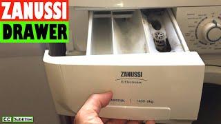 Як видалити скриньку розподільника на пральна машина Zanussi