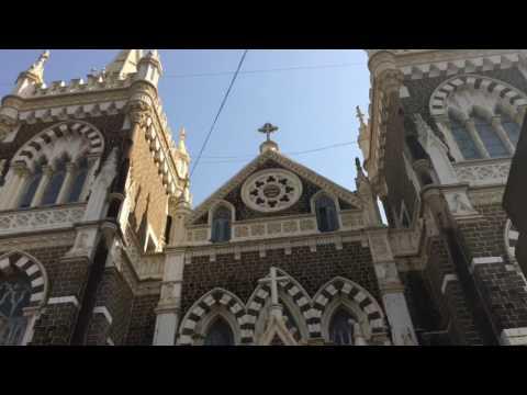 Mount Mary Church - Christmas Day - Mumbai - India