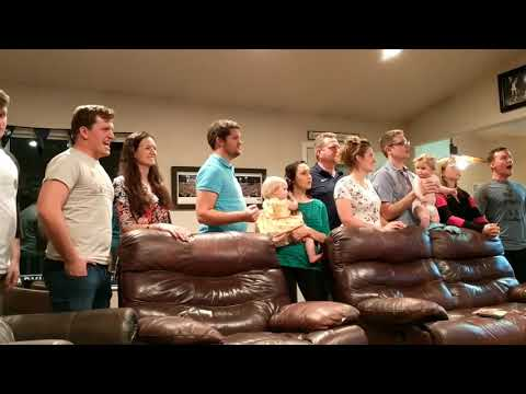 """One Day More"" LeBaron Family Sings Karaoke"
