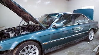 Ls3 swap in a BMW! 2jz in a old Mercedes! Checking out KS motorsport!