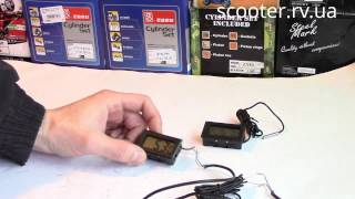 видео электронные датчики температуры