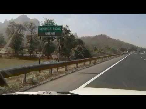 Way to Mumbai from Silvassa through National Highway 8, a beautiful experience