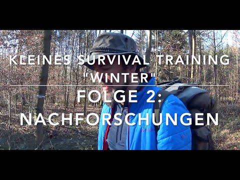 Erste Entdeckungen! Kleines-Winter-Survival-Training #2