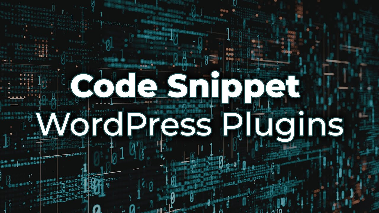 The Best Code Snippet Plugins for WordPress
