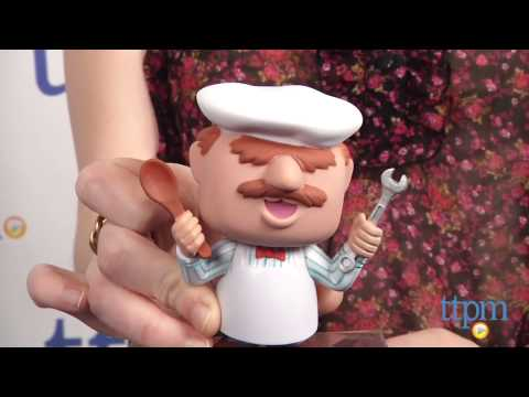Pop Muppets Most Wanted Swedish Chef Vinyl Figure From