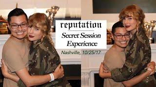 My reputation Secret Session Experience