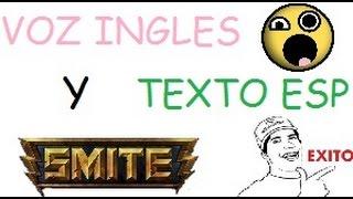 Texto en Español y Voz en Ingles