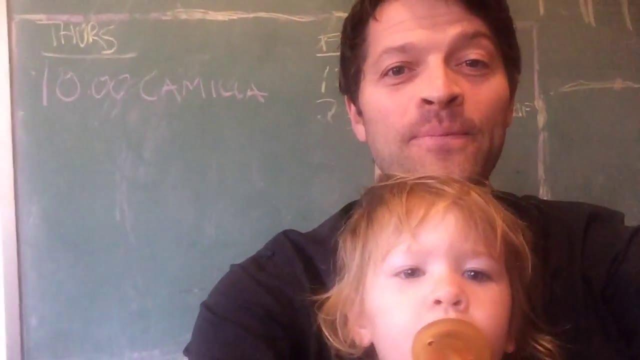 Misha talks about his daughter Maison