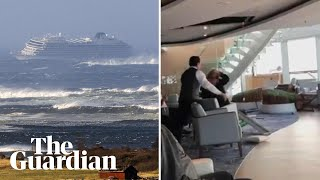 Viking Sky: hell ride as stricken cruise ship is tossed by rough seas