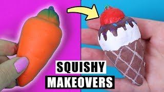 SQUISHY MAKEOVERS #1 | Dekoruję i zmieniam moje squishy!