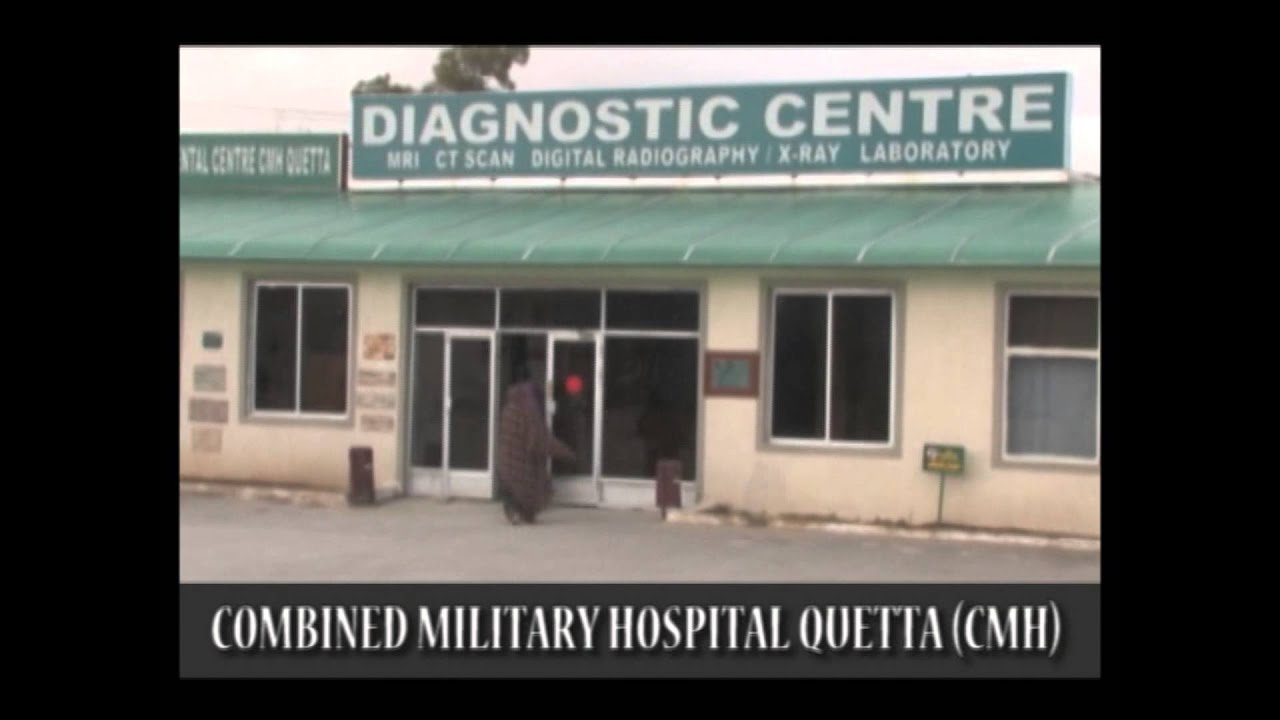 Combined military hospital quetta pakistan