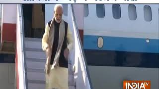 PM Modi arrives in Lucknow, he will attend events later today in Raebareli and Prayagraj