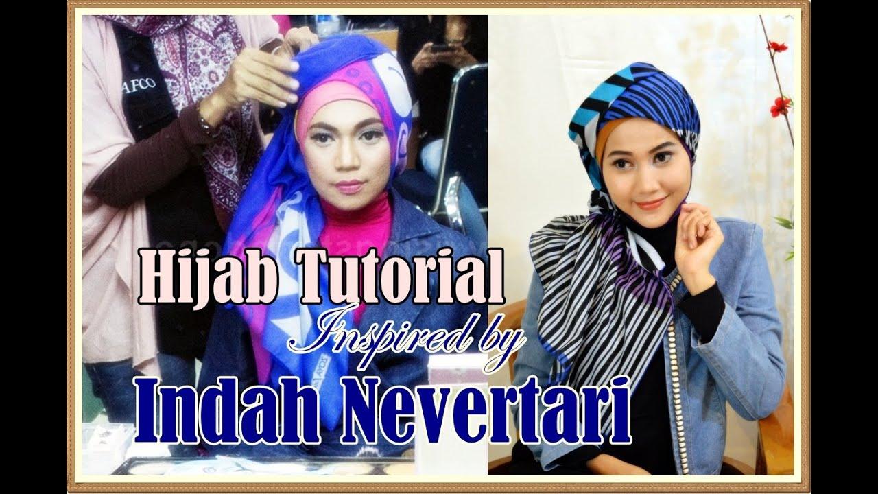 Model Jilbab Segi Empat Inspired By Indah Nevertari Rising Star