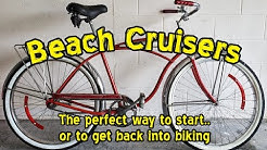 Beach Cruiser Bikes, the perfect way to start or to get back into biking.