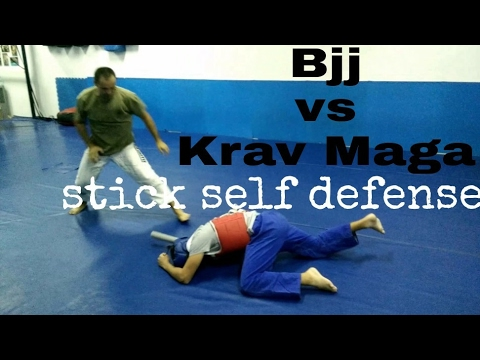 Bjj & Krav Maga Stick Self Defense