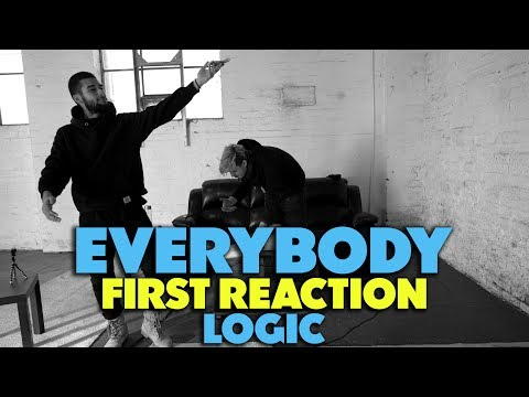 LOGIC - EVERYBODY FIRST REACTION/REVIEW (JUNGLE BEATS)