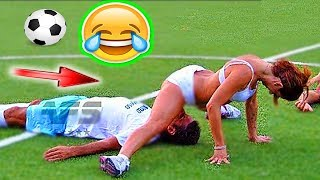 Football funny videos #80 women soccer girls fails comic moments vines 2017 goals l skills