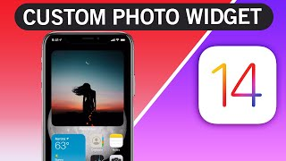 How to add custom photo Widget on iOS 14