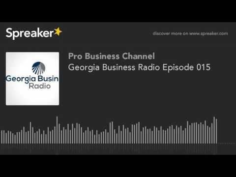 Georgia Business Radio Episode 015