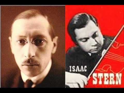 Strawinski-Dushkin-Firebird Suite-Berceuse