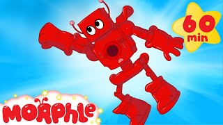 My Red Robot (+ 1 hour My Magic Pet Morphle Mega cartoon compilation for kids!)