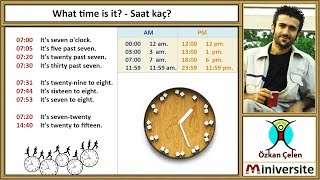 25 What Time Is It Saat Kac