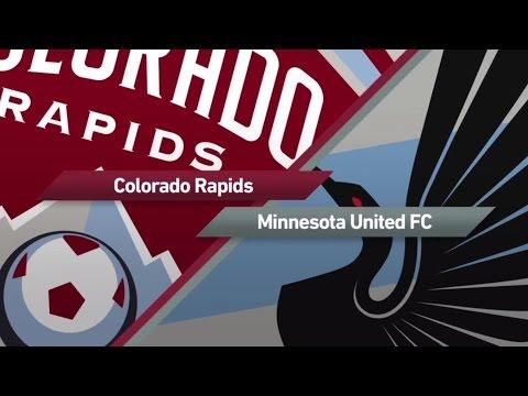 HIGHLIGHTS: Colorado Rapids vs. Minnesota United   March 18, 2017