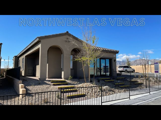 New Homes For Sale Las Vegas   Century Communities Skye Canyon   Skye Mesa   1742 Home Tour   $389k+