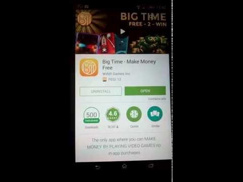 игра с koтopoи я заработал реальные деньги, BIG TIME, 12$ ,за два дня coветую!