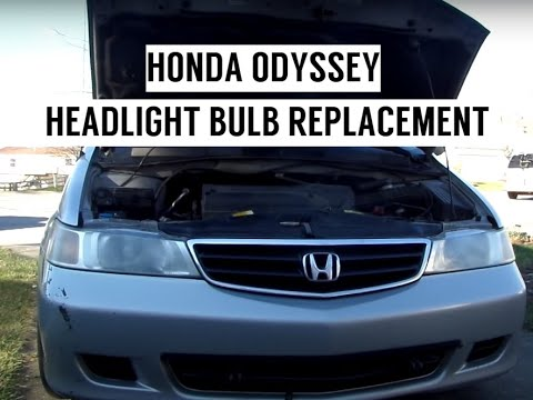 Headlight Bulb Replacement Honda Odyssey Accord 99 00 01 02 03 04 You
