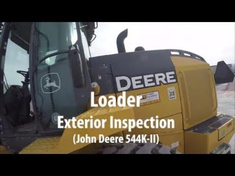 Loader Exterior Inspection
