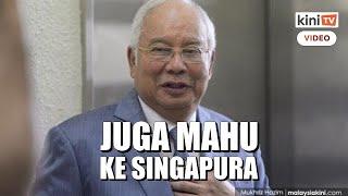 Lepas Rosmah, Najib pula mohon dapatkan sementara pasport