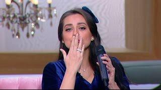 معكم منى الشاذلى - لأول مرة هبة مجدي تغني أغنية زوجها محمد محسن الجديدة « في قلبي مكان »