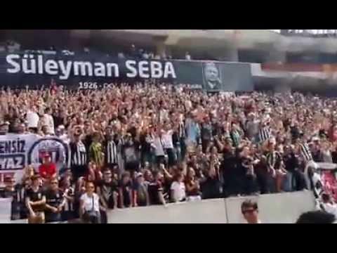 Beşiktaş Vodafone Arena'da ilk tezahurat ... Süleyman Seba tören