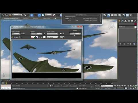 3ds Max tutorial Part 2: Texture Map the Flying Wing