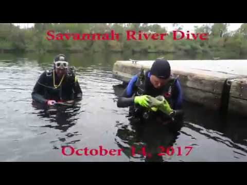 Savannah River Dive 10/14/2017