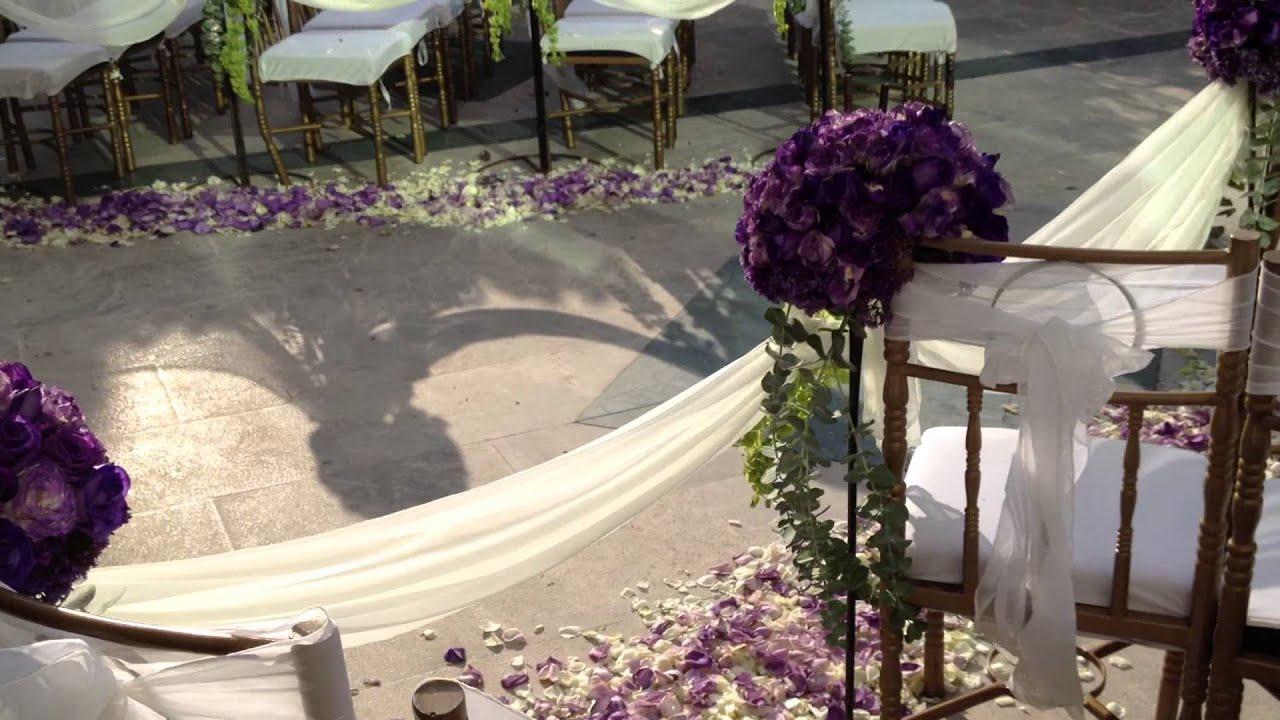 Decoracion con flores para ceremonia religiosa youtube for Decoracion con plantas