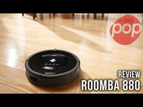 iRobot Roomba 880 REVIEW: The latest Roomba from iRobot has a few fun tricks and is potentially a replacement for your typical vacuum.  iRobot Roomba 880: http://popcenter.co/1tw1FJR  --- For more visit www.thisispopcenter.com Follow us on Twitter www.twitter.com/thisispopcenter Like us on Facebook www.facebook.com/thisispopcenter