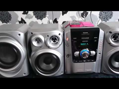 Panasonic sa ak640 hifi stereo system. See description below. Like and subscribe please.