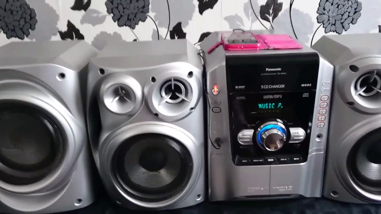 Panasonic Sa Ak640 Hifi Stereo System  See Description
