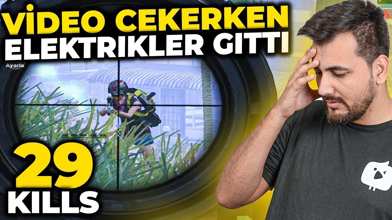29 LEŞ ALDIM / ELEKTRIKLER KESİLDİ PUBG MOBILE Sanhok Gameplay